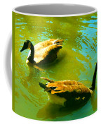 Long Neck Ducks Coffee Mug
