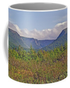 Long Range Mountains In Western Nl Coffee Mug