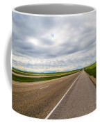 Road To The Sky In Saskatchewan. Coffee Mug