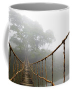 Long Rope Bridge Coffee Mug by Skip Nall