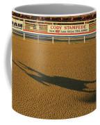 Long Shadow At Sunset Coffee Mug