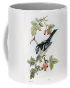 Long Tailed Tit And Rosehips Coffee Mug