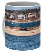 long view of Brant point lighthouse Coffee Mug