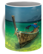 Longboat Coffee Mug by Adrian Evans