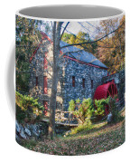 Longfellow's Wayside Inn Grist Mill In Autumn Coffee Mug