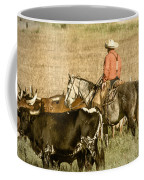 Longhorn Round Up Coffee Mug