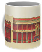 Longitudinal Section Of The Temple Coffee Mug