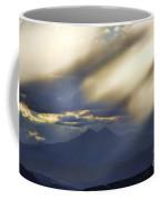 Longs Peak Through Smoke Coffee Mug