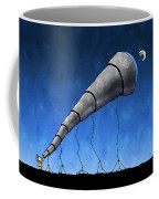 Look At Me Moon Coffee Mug by Gianfranco Weiss