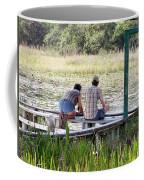 Looking At The Marsh Coffee Mug