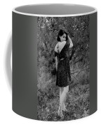 Looking Back In Black And White Coffee Mug