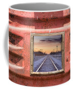 Looking Back Panorama Coffee Mug