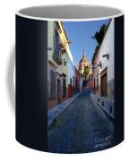 Looking Down Aldama Street, Mexico Coffee Mug