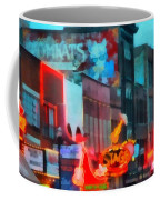 Looking Down Broadway In Nashville Tennessee Coffee Mug
