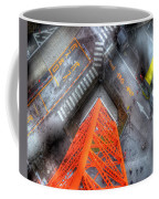 Looking Down Coffee Mug