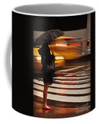Looking For A Taxi - Rush Hour New York Coffee Mug