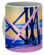 looking On - Neon Coffee Mug