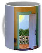 Looking Out My Back Door Coffee Mug