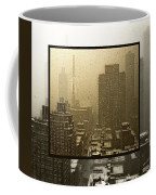 Looking Out On A Snowy Day - Nyc Coffee Mug