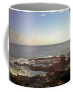 Looking Out Over The Ocean Coffee Mug