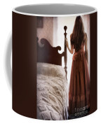 Looking Out The Bedroom Window Coffee Mug