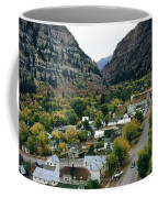 Looking Over Ouray From The Sutton Mine Trail Circa 1955 Coffee Mug