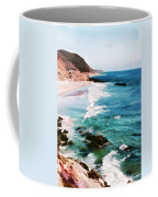 Looking South On The Northern California Coast Coffee Mug