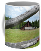Looking Thru The Fence Coffee Mug by Alan Socolik