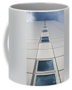 Looking Up At A Modern Building Coffee Mug