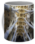 Looking Up At The Sagrada Familia In Barcelona Coffee Mug