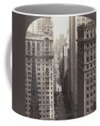 Looking Up Broadway In Nyc Coffee Mug