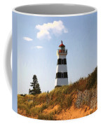 Looking Up From The Dunes At West Point Light Coffee Mug
