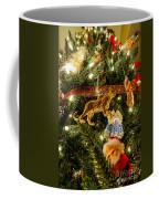 Looking Up The Christmas Tree Coffee Mug