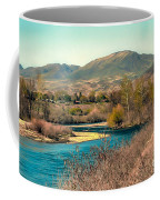 Looking Up The Payette River Coffee Mug