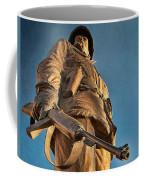 Looking Up To A Hero In Pueblo Colorado Coffee Mug