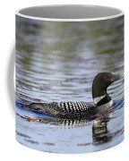 Loon And Reflection Coffee Mug