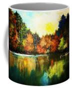 Autumn In Loon Country Ll Coffee Mug