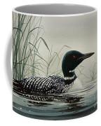 Loon Near The Shore Coffee Mug by James Williamson