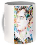 Lord Byron - Watercolor Portrait Coffee Mug