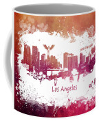 Los Angeles California Skyline Coffee Mug