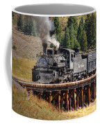 Los Pinos Bridge And Cattle Train Coffee Mug
