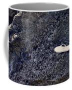 Lost Flip Flop On Lava Rock Coffee Mug
