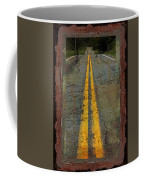 The Road Goes On Forever Coffee Mug