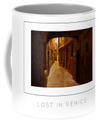 Lost In Venice Poster Coffee Mug
