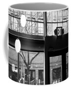 Lost Lake Black And White Coffee Mug