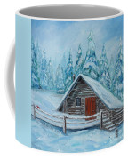 Lost Mountain Cabin Coffee Mug
