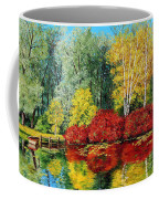 Autumn Pond Coffee Mug