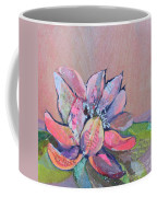 Lotus Iv Coffee Mug by Shadia Derbyshire