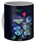 Lotus On Dark Water Coffee Mug