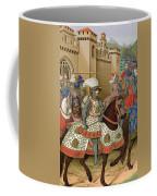 Louis Xii Leaving Alexandria Coffee Mug